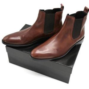 Foto von 2 Chelsea Herren braun auf schwarzem Schuhkarton_Modell 320
