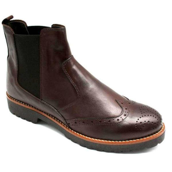 Foto Dunkelbraune Chelsea Boots nur rechte Seite_Modell 620